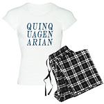 Quinquagenarian, 50 Women's Light Pajamas