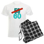 60th Birthday Gifts, 59 to 60 Men's Light Pajamas