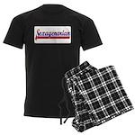 Sexagenarian Men's Dark Pajamas