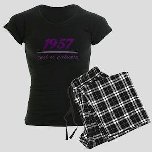 Perfect 1957 Women's Dark Pajamas