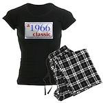 1966 Classic Women's Dark Pajamas