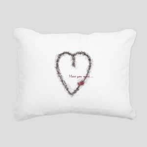 hartrose2 Rectangular Canvas Pillow