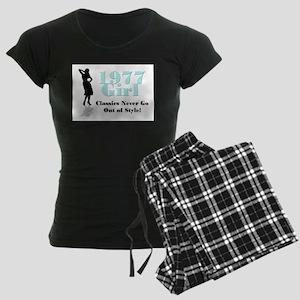 1977 Girl Women's Dark Pajamas