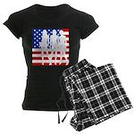 Stars & Stripes Forever Women's Dark Pajamas