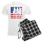 Stars & Stripes Forever Men's Light Pajamas