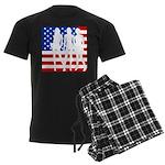 Stars & Stripes Forever Men's Dark Pajamas