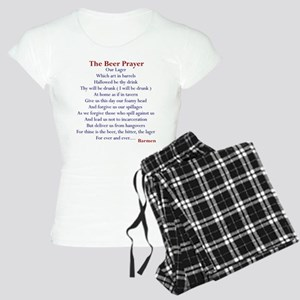 Beer Prayer Women's Light Pajamas