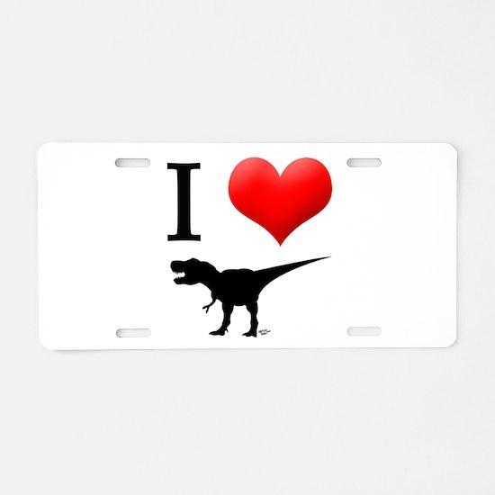 Dinosaurs Aluminum License Plate