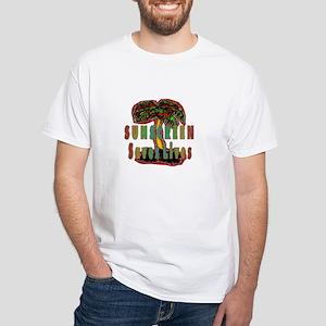 Melanoma White T-Shirt