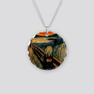 Scream 60th Necklace Circle Charm
