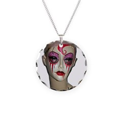 Scary Clown Necklace