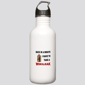 ANTI-AMERICAN GEEK Stainless Water Bottle 1.0L
