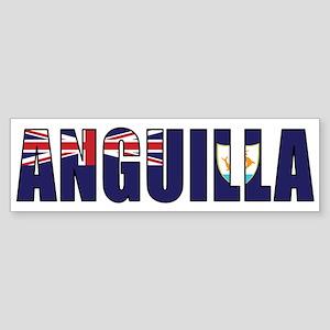 Anguilla Sticker (Bumper)