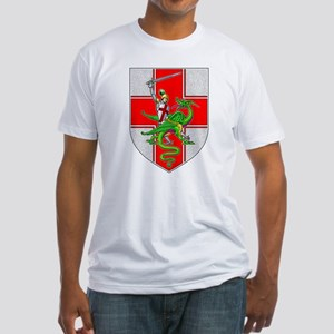 St. George & Dragon Fitted T-Shirt