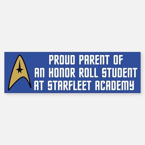 Proud Parent (blue) Sticker (Bumper)