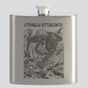 Cthulu Attacks! Flask
