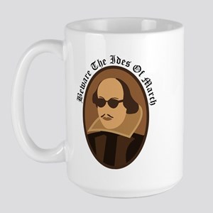 Shakespeare Ides Of March Large Mug