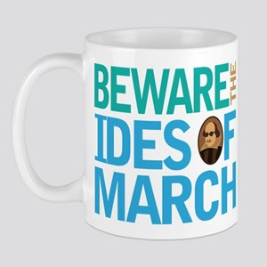 Ides Of March Shakespeare Quote Mug