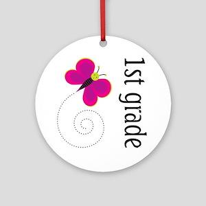 New Teacher Gift 1st Grade Ornament (Round)