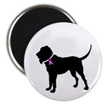 Blood Hound Breast Cancer Sup Magnet