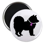 Chow Chow Breast Cancer Suppo Magnet