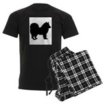 Chow Chow Men's Dark Pajamas