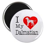 I Love My Dalmatian Magnet