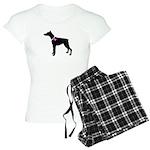 Doberman Pinscher Breast Canc Women's Light Pajama