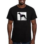 Doberman Pinscher Breast Canc Men's Fitted T-Shirt