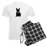 French Bulldog Breast Cancer Men's Light Pajamas