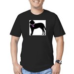 Saint Bernard Breast Cancer Support Men's Fitted T
