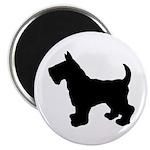 Scottish Terrier Silhouette Magnet