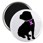 Shar Pei Breast Cancer Suppor Magnet