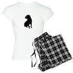 Shar Pei Silhouette Women's Light Pajamas
