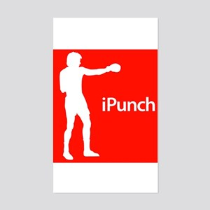 iPunch Sticker (Rectangle)