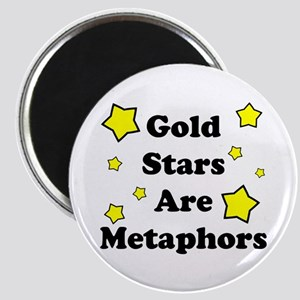 Gold Stars are Metaphors Magnet