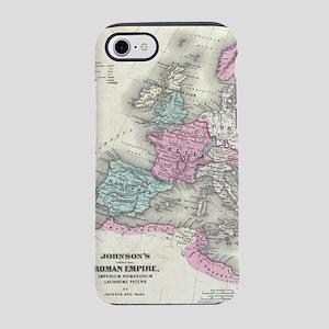 Vintage Map of The Roman Empir iPhone 7 Tough Case