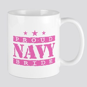 Proud Navy Bride Mug