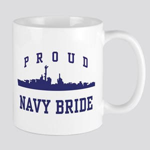 Proud Navy Bride Mug
