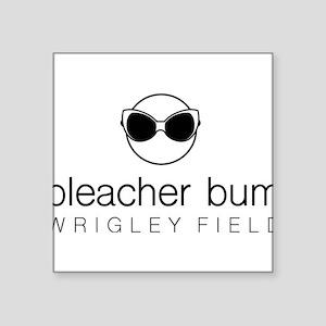 Bleacher Bum Wrigley Field Sticker