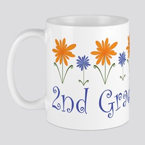 Cute Second Grade Teacher Mug