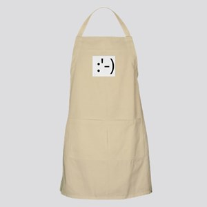 Happy Crying Smilie BBQ Apron