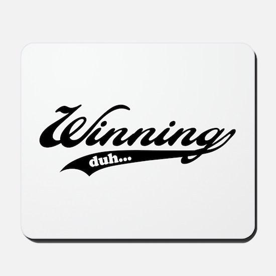 Winning! Mousepad