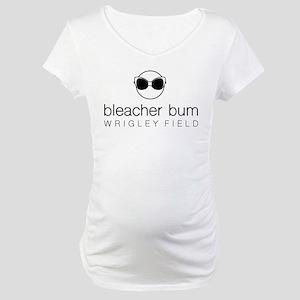 Bleacher Bum Wrigley Field Maternity T-Shirt