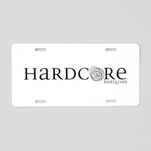 Hardcore Aluminum License Plate