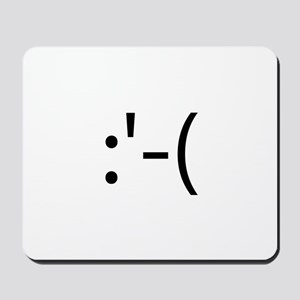 Crying Smilie Mousepad