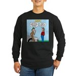Car Fanatic Baby Name Bra Long Sleeve Dark T-Shirt