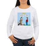 Car Fanatic Baby Name Women's Long Sleeve T-Shirt