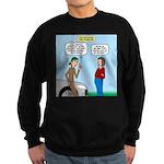 Car Fanatic Baby Name Brainstorm Sweatshirt (dark)