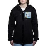Car Fanatic Baby Name Brainstor Women's Zip Hoodie